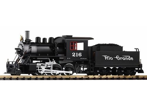 Piko 38220 - G-US Dampflok Mogul + Tender D&RGW mit Dampf