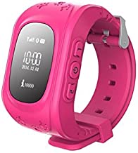 TKSTAR Gps Tracker Smart Watch Phone Two-way Call for Kids with SIM Slot SOS Call Anti-lost Alarm Remote Monitor GPS/LBS Locator Smart Bracelet Watch Support Android IOS No Subscription Fee Q50