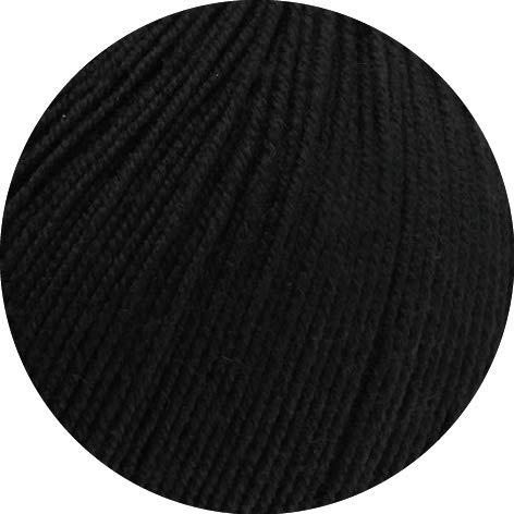 Lana Grossa Cool Wool Baby 50 g 278 - Schwarz