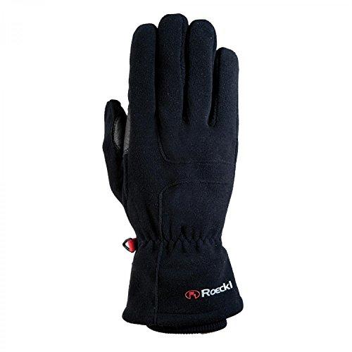 Roeckl Erwachsene Kodal Handschuhe, Schwarz, 10.5