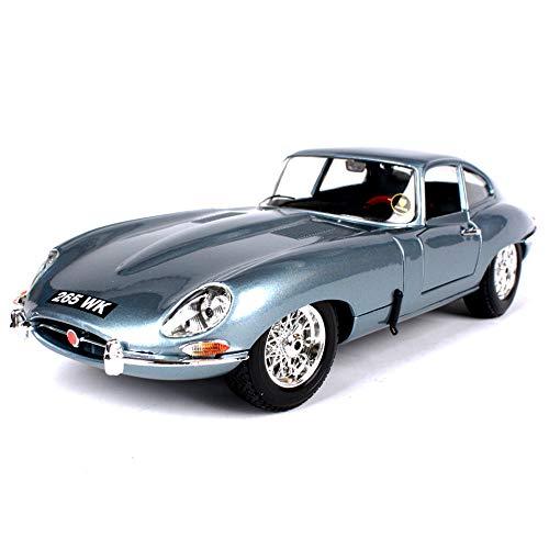 LMEI-Cars Jaguar Oldtimer Hardtop Automodell 1:18, Statische Simulation Legierung Auto Druckguss Automodell, TüR Und Motorhaube KöNnen GeöFfnet Werden, Die Beste Geschenksammlung