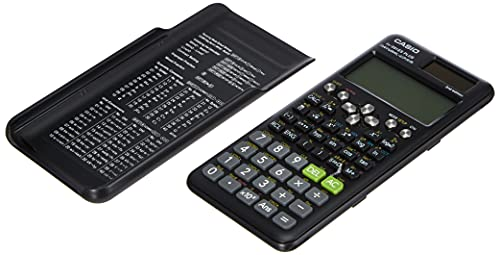 Casio FX-991ES Plus-2 - Calculadora Científica, 417 Funciones, 11 x 77 x 162 mm, Negro