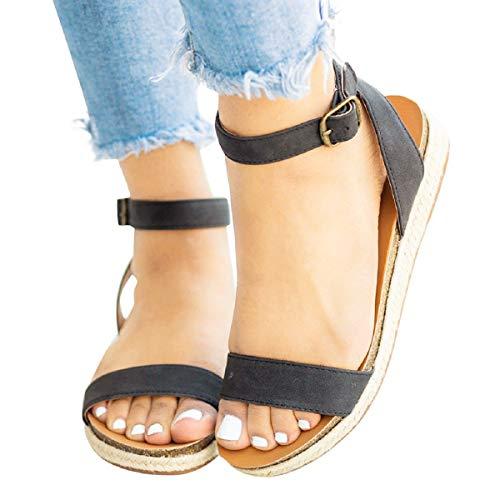 Sandalias Mujer Verano 2019 Sandalias De Verano De Estilo Bohemio Confort Para Mujeres De Gran Tamaño Zapatos De Mujer Y Contiene Niña Sandalias Tacones Altos Zapatillas Zapatos Chanclas Tacon