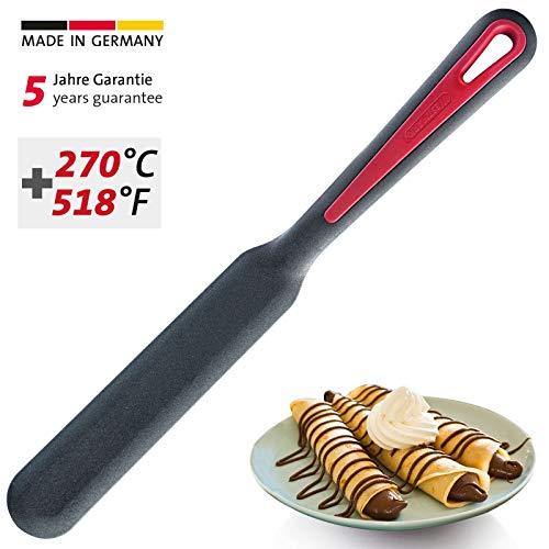 Westmark Crêpes-Spatel, Hitzebeständig bis 270 °C, PPA, Länge: 33 cm, Gallant Plus, Schwarz/Rot, 29662275