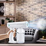 Vogvigo Wireless Nano Cold Fogger Machine, 800ML Rechargeable Electric ULV Sprayer, Portable Handheld Cleaning Spray Gun, for Home, Room, Office, School, Indoor,Outdoor
