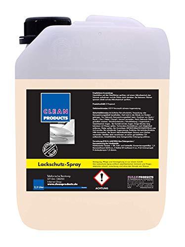 CLEANPRODUCTS Lackschutz-Spray 2,3 Liter - Auto Detailer - Waschen ohne Wasser mit Schnell-Versiegelung