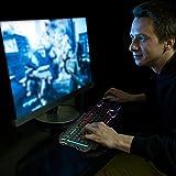 Zoom IMG-1 tastiera tedgem gaming pc led