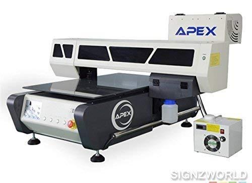 UV Printer UV6090 Automatic Flatbed Digital Printer 60x90cm High Speed