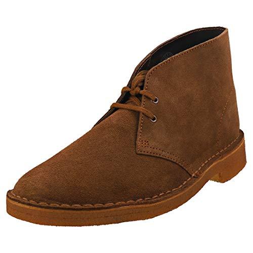 Clarks Desert Boots - Polacchine Uomo, Pelle, Marrone (Cola Suede-), 42 EU
