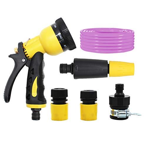 Tuyau SHPING d'arrosage, Lavage de Voiture d'arrosage Raccord Rapide Spray Kit Anti-Gel résistant à l'usure Conduite d'eau, for extérieur Propre Irrigation (Size : 20m)