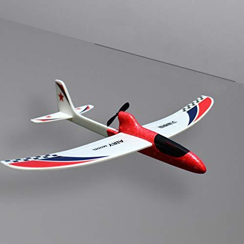ORETG45 Avión de juguete, avión teledirigido, modelo de avión de espuma, juguete deportivo para niños, 30 x 35 cm