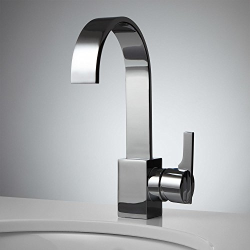 Signature Hardware 920379 Ultra 1.2 GPM Single Hole Bar and Kitchen Faucet