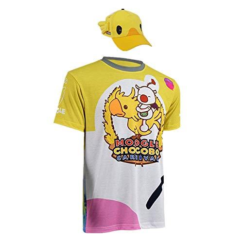 Spiel Final Fantasy / FF15 MOGLI & Chocobo Neuheit Cosplay für Partykostüme T-Shirts und Hut für Frauen Männer Hohe Qualität