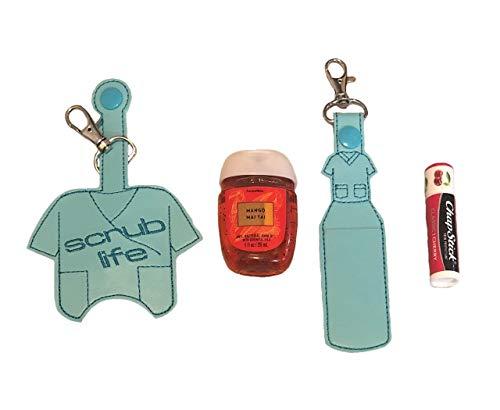 Scrub Life Hand Sanitizer and/or Lip Balm Holder
