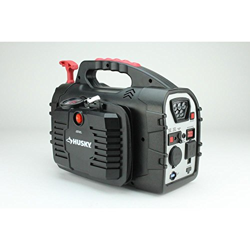 Great Features Of 8-in-1 12-Volt Power Source/Jumpstarter Jump Jumper Start Fixer Upper Toolings Con...