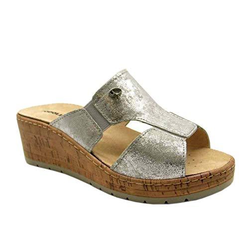 Orthopedische sandalen met afneembaar voetbed Saonara