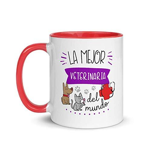 Kembilove Taza de Desayuno de la Mejor Veterinaria del Mundo – Tazas de Café para Profesionales y...