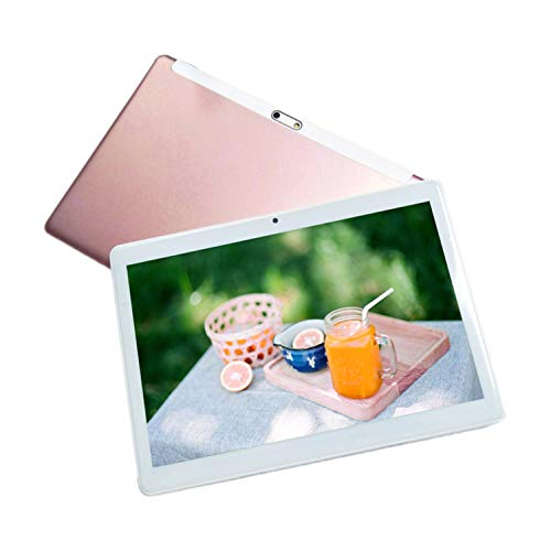 Dailyinshop Tablet 10.1 inch Tablet 2GB RAM 64GB ROM for Android 7.0 Phablet Tablet Pc,Rose Gold
