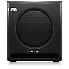"""Ultra-linear 300-Watt reference-class studio subwoofer Designed by renowned acoustic icon Keith Klawitter, founder of KRK* Powerful bridge-mode amplifier provides detailed reproduction of full low frequency spectrum High excursion 10"""" woofer with def..."""