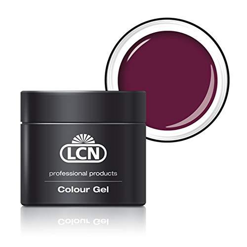 LCN Professional Nails Colour Gels'rouge noir' 5 ml