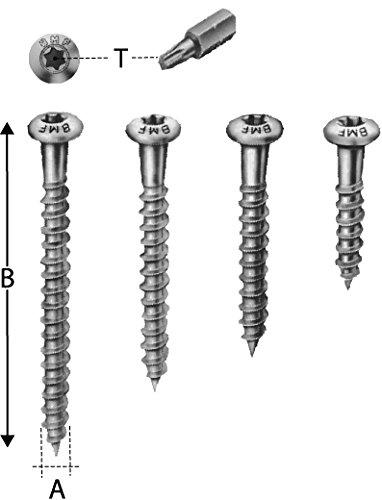 Preisvergleich Produktbild Simpson Strong-Tie CSA Schrauben 5, 0 x 50