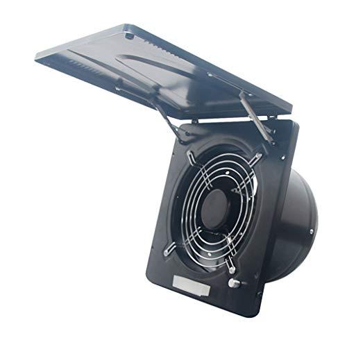 STRAW Ventilador de Escape Tipo Clamshell Rango de Cocina Extractor de Humos con Cubierta Ventilador Ventilador Potente Extractor silencioso hogar de 10 Pulgadas