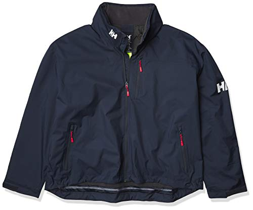 Helly Hansen Herren CREW HOODED MIDLAYER JACKET – Blau (Navy), X-Large