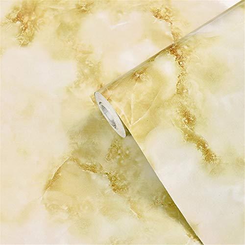 Papel pintado autoadhesivo de papel de mármol, resistente al agua, a prueba de aceite, fácil de limpiar, rollo de plástico adhesivo extraíble para mesa de cocina