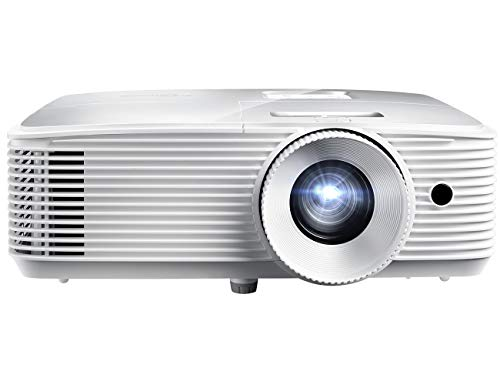 Optoma H184X Affordable Home & Outdoor Movie Projector   HD Ready 720p + 1080p Support   Bright 3600 Lumens for Lights-on Viewing   3D-Compatible   Speaker Built in