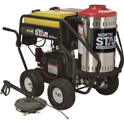 Product Image of the NorthStar Gas Wet Steam and Hot Water Pressure Power Washer - 3000 PSI, 4.0 GPM, Honda Engine