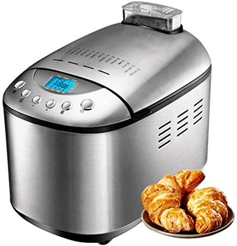 LLDKA Foglia Doppia Macchina di Pasta di Pane Automatico Macchina di Famiglia Automatica della Famiglia della Macchina del Pane del Doppio dell'Acciaio Inossidabile di miscelazione e Pasta