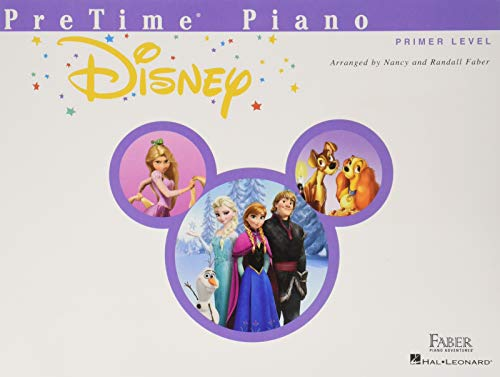 PreTime Piano Disney: Primer Level