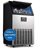 Best Ice Makers - Northair Commercial Ice Maker, Built-In Stainless Steel Ice Review