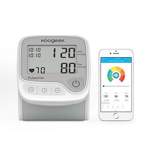 Koogeek Tensiómetro de Muñeca Digital, Monitor de Presión