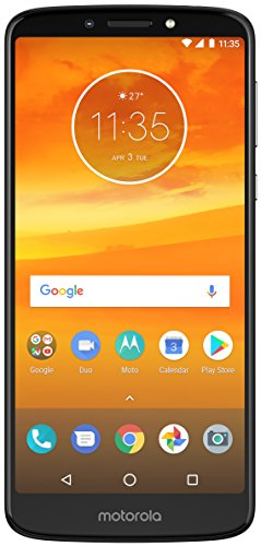 Motorola Moto E5+ Plus (32GB, 3GB RAM) 6.0' Display, 5000 mAh Battery, Dual SIM 4G LTE (GSM Only)...