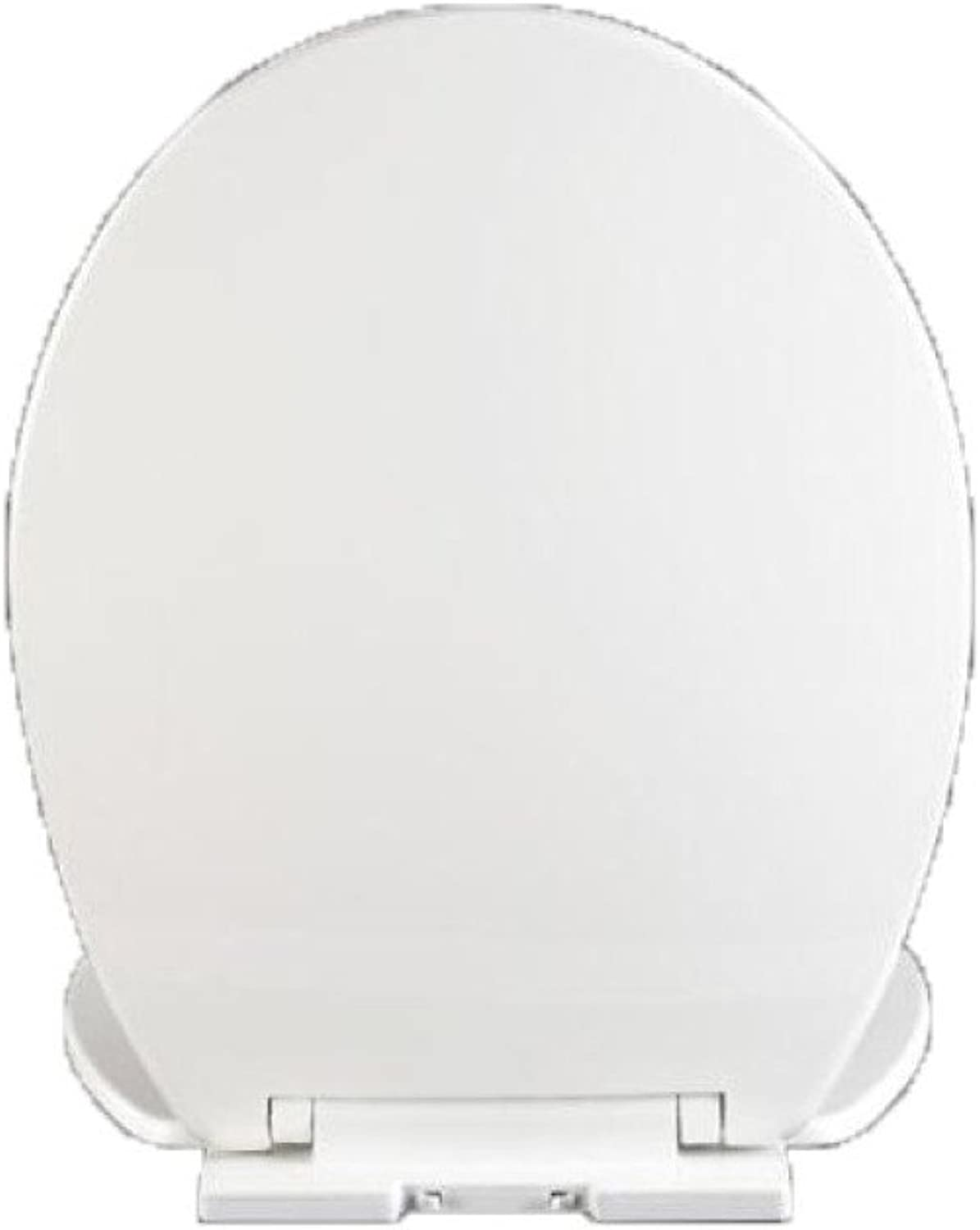 Toilet Seat V U O Soft Close Quick Release White Dual Fixing System,White-42-46  35.6CM