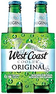 West Coast Cooler Original 250ml (Pack of 4)