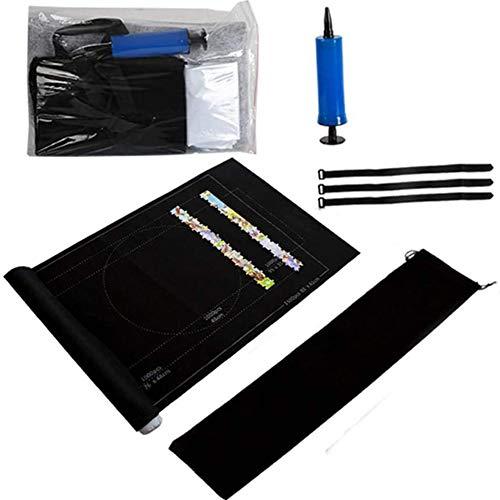 Raadselmatten Mattenset Opslagvolume Tot 1500 Merken De Mat Stuks - Milieuvriendelijke Materialen,Black