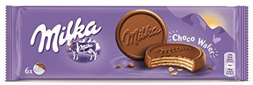 Milka - Choco Wafer - Barquillo con Relleno de Cacao - 180 g - 2 unidades