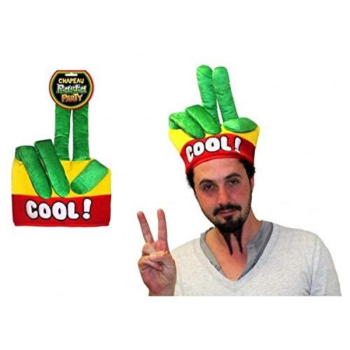 Chapeau Rasta Doigt Cool Taille Unique