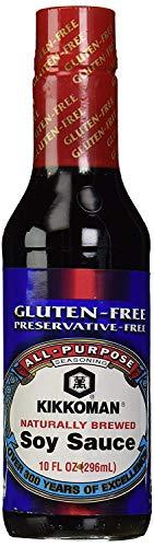 Kikkoman Gluten Free Soy Sauce, 10 oz (3)