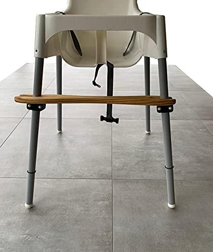 Fußablage Fußstütze kompatibel mit IKEA ANTILOP Kinderhochstuhl aus Kiefernholz