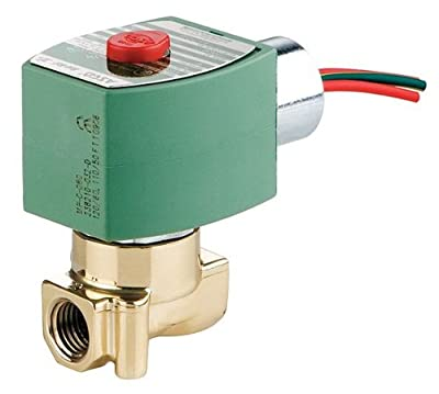 Solenoid Valve, 2/2, 1/8 In, NO, 120/110V by Red Hat