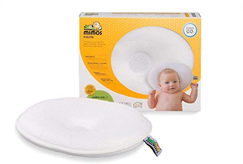 MIMOS Baby Pillow New (S) - Air Flow Safety (TUV Certification) - Size S (Head Circumference 36-46...