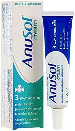 Anusol - Haemorrhoids Treatment - Cream 43g