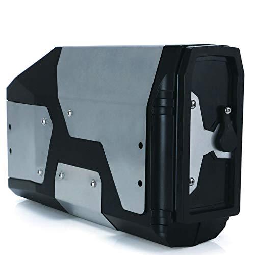 Caja de Herramientas para R1250gs R1200gs LC y ADV Adventure 2002 2008 2018 para R 1200 GS Soporte Izquierdo Caja de Aluminio Negro