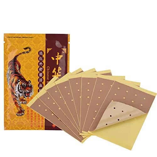80-teiliges Schmerzlinderung Patch, Wärmepflaster Rückenpflaster, chinesisches Kräuterpflaster für die Gesundheit der Rückenschulter zur Linderung von Muskel- und Gelenkschmerzen
