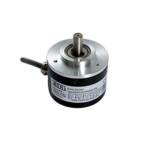 CALT 52 mm Schrittgeber, 8 mm Schaft, 1000 ppr NPN Ausgang