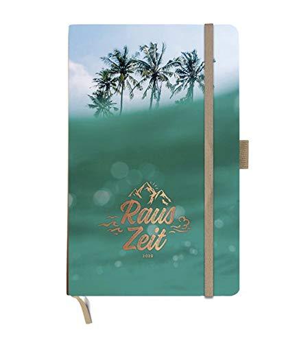Rauszeit Kalenderbuch A5. Taschenkalender 2020. Wochenkalendarium. gebunden. Format 13 x 21 cm