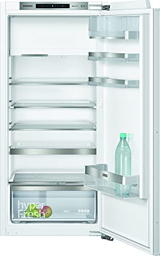 Siemens KI42LADF0 iQ500 Einbau-Kühlschrank mit Gefrierschrank / F / 185 kWh/Jahr / 195 l / hyperFresh Plus / LED Beleuchtung / superCooling